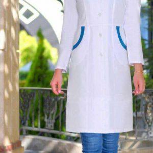 خرید روپوش سرمه ای پرستاری مدل روپوش پرستاری شیک مدل مانتو پرستاری سفید خرید مانتو پرستاری