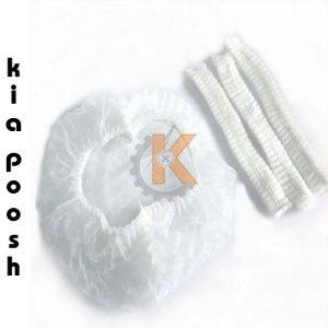 کلاه آکاردئونی یکبار مصرف کد KPC006 | جهت جلوگیری از ریزش موی افراد از کلاه یکبار مصرف استفاده میگردد. کلاه آکاردئونی حجم کمی داشته و در حین استفاده بسیار راحت است